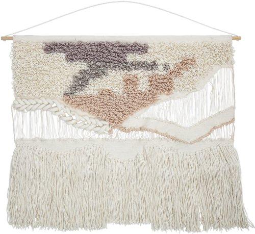 På billedet ser du variationen Nordic, Dekoration, Vægtæppe fra brandet Creative Collection i en størrelse H: 95 cm. B: 105 cm. i farven Natur