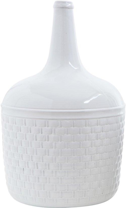 På billedet ser du variationen Ivory, Vase, Stentøj keramik fra brandet Creative Collection i en størrelse D: 30 cm. H: 48 cm. i farven Hvid