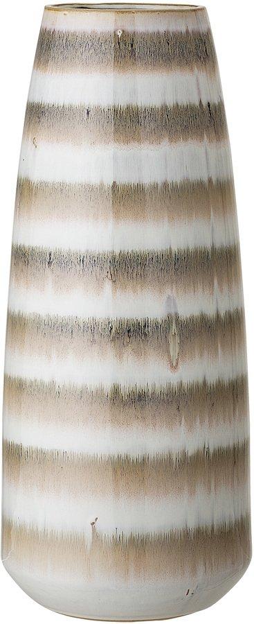 På billedet ser du variationen Cozy, Vase, Stentøj keramik fra brandet Bloomingville i en størrelse D: 17 cm. H: 40,5 cm. i farven Multifarvet