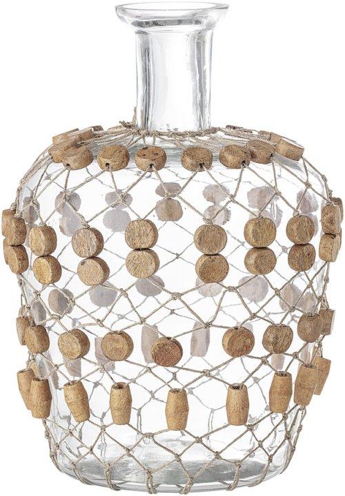 På billedet ser du variationen Nordic, Vase, Glas fra brandet Bloomingville i en størrelse D: 20,5 cm. H: 29,5 cm. i farven Klar