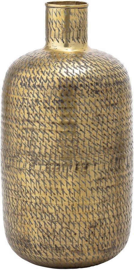 På billedet ser du variationen Cozy, Vase, Jern fra brandet Bloomingville i en størrelse D: 33 cm. H: 65 cm. i farven Messing