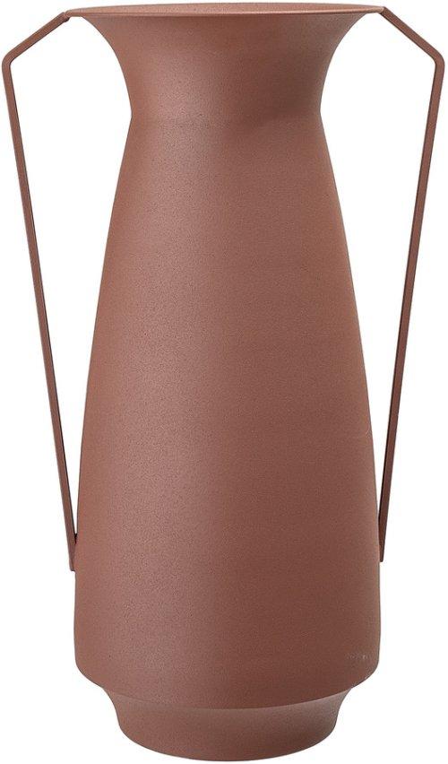 På billedet ser du variationen Gatherings, Vase, Jern fra brandet Bloomingville i en størrelse D: 18 cm. H: 40 cm. B: 25 cm. i farven Brun