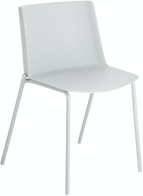På billedet ser du variationen Hannia, Spisebordsstol fra brandet LaForma i en størrelse H: 78 cm. B: 47 cm. L: 53 cm. i farven Grå