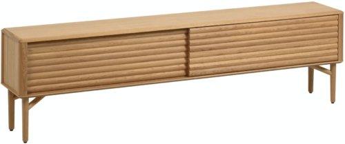 På billedet ser du variationen Lenon, TV-bord fra brandet LaForma i en størrelse H: 57 cm. B: 200 cm. L: 35 cm. i farven Natur