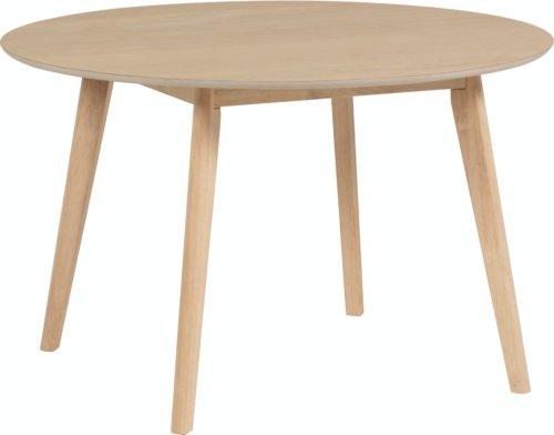 På billedet ser du variationen Batilde, Spisebord, Rundt, Asketræ fra brandet LaForma i en størrelse H: 74 cm. B: 120 cm. L: 120 cm. i farven Natur