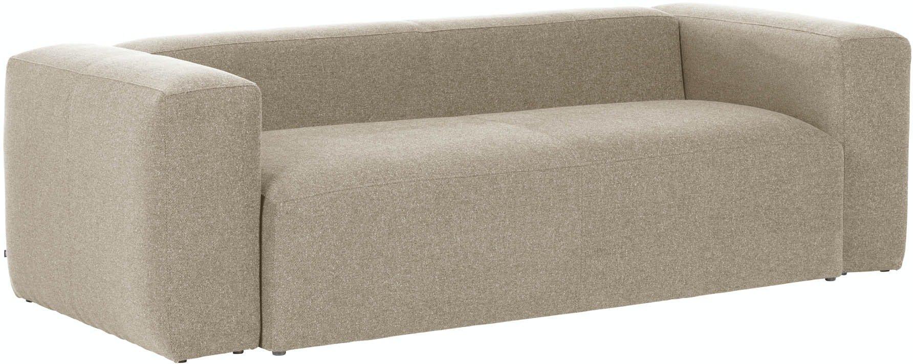 Blok, 3-personers sofa, Stof by LaForma (H: 69 cm. B: 210 cm. L: 100 cm., Beige)