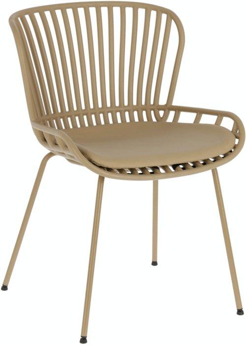 På billedet ser du variationen Surpik, Spisebordsstol fra brandet LaForma i en størrelse H: 80 cm. B: 52 cm. L: 57 cm. i farven Beige