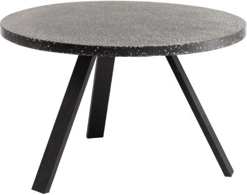 På billedet ser du variationen Shanelle, Udendørs spisebord fra brandet LaForma i en størrelse H: 76 cm. B: 120 cm. L: 120 cm. i farven Sort