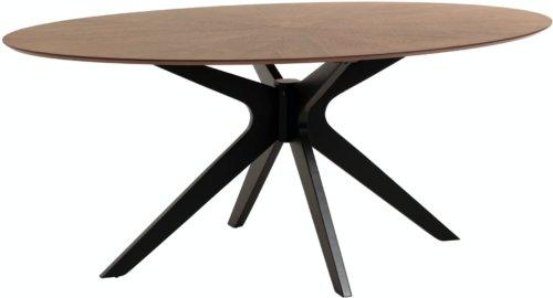 På billedet ser du variationen Naanim, Spisebord fra brandet LaForma i en størrelse H: 75 cm. B: 180 cm. L: 110 cm. i farven Natur/sort