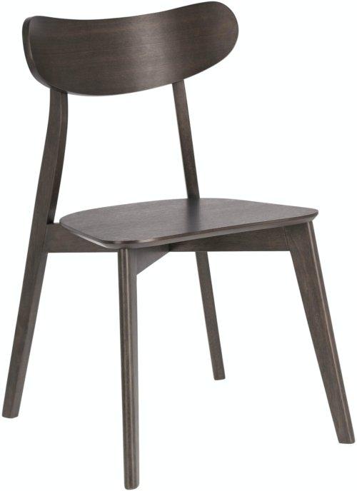 På billedet ser du variationen Safina, Spisebordsstol fra brandet LaForma i en størrelse H: 80 cm. B: 49 cm. L: 50 cm. i farven Natur/brun