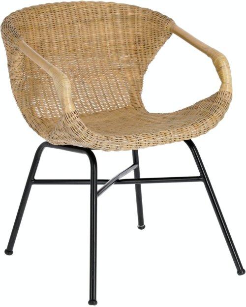 På billedet ser du variationen Orie, Spisebordsstol m. armlæn fra brandet LaForma i en størrelse H: 73 cm. B: 55 cm. L: 60 cm. i farven Natur