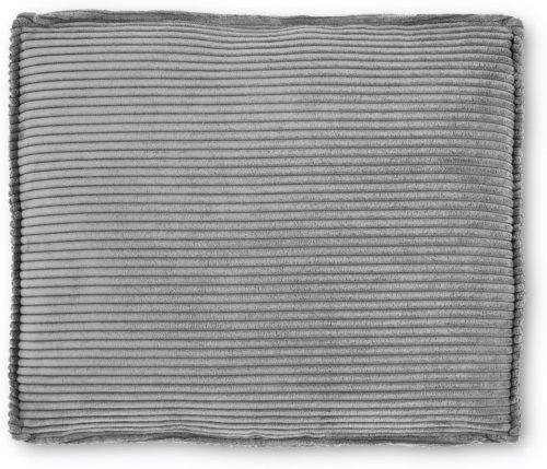 På billedet ser du variationen Blok, Sofa tilbehørspude, Fløjl fra brandet LaForma i en størrelse H: 60 cm. B: 70 cm. L: 15 cm. i farven Grå