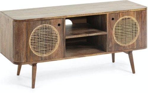 På billedet ser du variationen Beatrice, TV-bord, Mangotræ fra brandet LaForma i en størrelse H: 55 cm. B: 120 cm. L: 40 cm. i farven Natur/brun