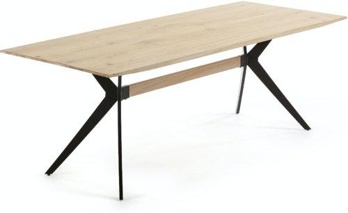 På billedet ser du variationen Amelie, Spisebord fra brandet LaForma i en størrelse H: 76 cm. B: 90 cm. L: 160 cm. i farven Natur/sort