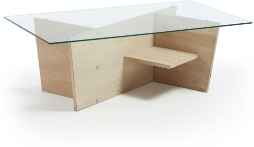 På billedet ser du variationen Brooke, Sofabord fra brandet LaForma i en størrelse H: 36 cm. B: 110 cm. L: 60 cm. i farven Natur/klar