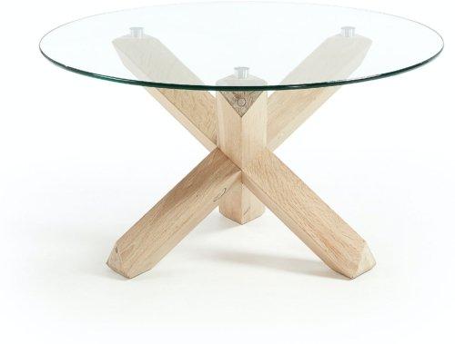 På billedet ser du variationen Lotus, Sofabord fra brandet LaForma i en størrelse H: 45 cm. B: 65 cm. L: 65 cm. i farven Natur/klar