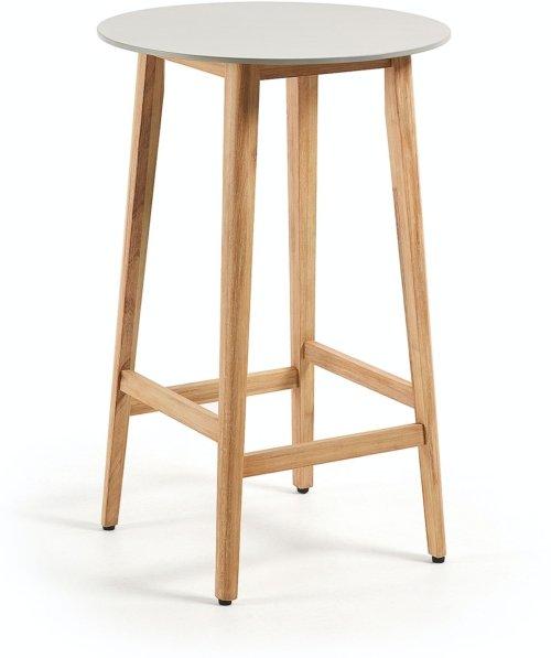 På billedet ser du variationen Georgette, Udendørs spisebord fra brandet LaForma i en størrelse H: 102 cm. B: 70 cm. L: 70 cm. i farven Grå/natur