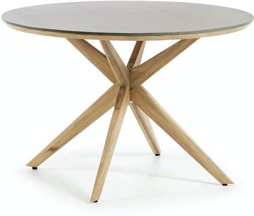 På billedet ser du variationen Juliette, Udendørs spisebord fra brandet LaForma i en størrelse H: 76 cm. B: 120 cm. L: 120 cm. i farven Grå/natur