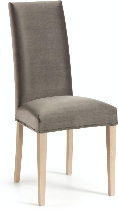 På billedet ser du variationen Freda, Spisebordsstol fra brandet LaForma i en størrelse H: 100 cm. B: 45 cm. L: 56 cm. i farven Grå/natur