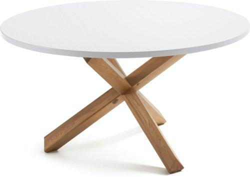 På billedet ser du variationen Lotus, Spisebord, Rundt, Hvidt fra brandet LaForma i en størrelse H: 75 cm. B: 135 cm. L: 135 cm. i farven Hvid/natur