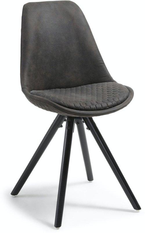 På billedet ser du variationen Ralf, Spisebordsstol fra brandet LaForma i en størrelse H: 86 cm. B: 48 cm. L: 56 cm. i farven Sort