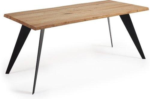 På billedet ser du variationen Koda, Spisebord, Træ fra brandet LaForma i en størrelse H: 78 cm. B: 180 cm. L: 100 cm. i farven Natur