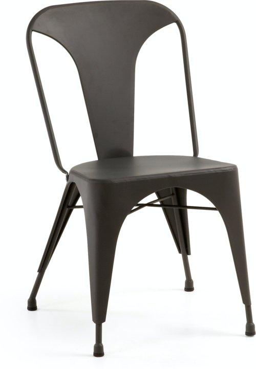 På billedet ser du variationen Malira, Spisebordsstol fra brandet LaForma i en størrelse H: 85 cm. B: 48 cm. L: 53 cm. i farven Sort