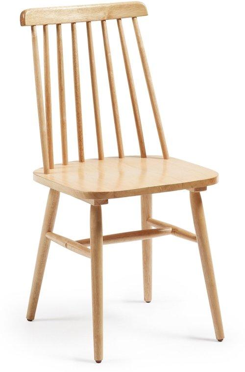 På billedet ser du variationen Tressia, Spisebordsstol fra brandet LaForma i en størrelse H: 89 cm. B: 43 cm. L: 49 cm. i farven Natur