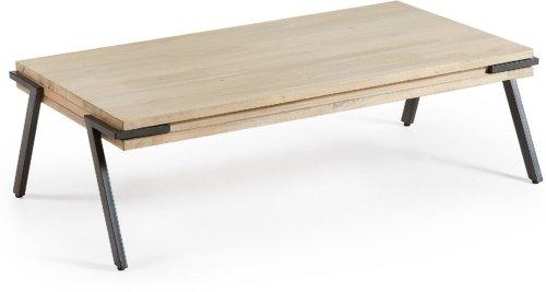 På billedet ser du variationen Thinh, Sofabord fra brandet LaForma i en størrelse H: 37 cm. B: 125 cm. L: 70 cm. i farven Natur/sort