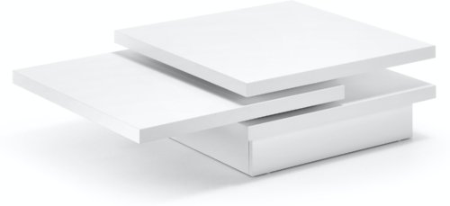 På billedet ser du variationen Kiu, Sofabord fra brandet LaForma i en størrelse H: 30 cm. B: 106 cm. L: 70 cm. i farven Hvid