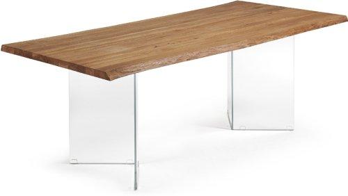 På billedet ser du variationen Lotty, Spisebord, Træ fra brandet LaForma i en størrelse H: 76 cm. B: 220 cm. L: 100 cm. i farven Natur/klar