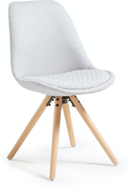 På billedet ser du variationen Ralf, Spisebordsstol fra brandet LaForma i en størrelse H: 83 cm. B: 48 cm. L: 56 cm. i farven Beige/natur