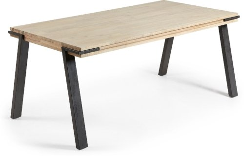 På billedet ser du variationen Thinh, Spisebord fra brandet LaForma i en størrelse H: 75 cm. B: 200 cm. L: 95 cm. i farven Natur/sort