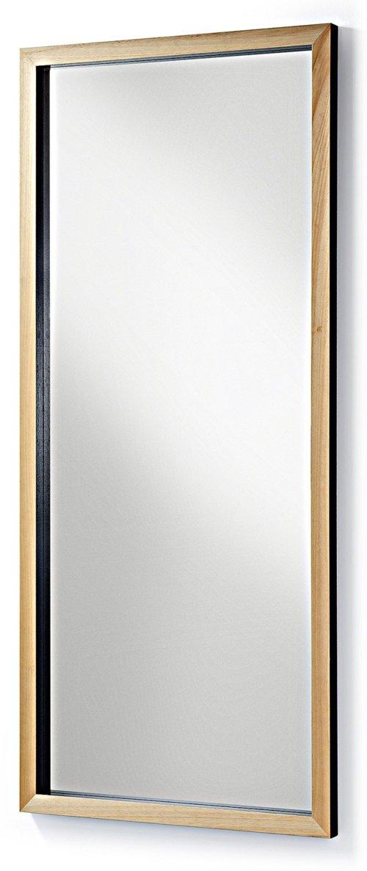 På billedet ser du variationen Enzo, Gulvspejl fra brandet LaForma i en størrelse H: 178 cm. B: 78 cm. L: 4 cm. i farven Natur/sort