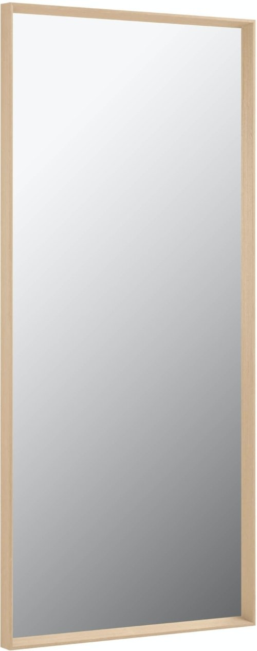 På billedet ser du variationen Yvaine, Vægspejl fra brandet LaForma i en størrelse H: 180 cm. B: 80 cm. L: 6 cm. i farven Natur