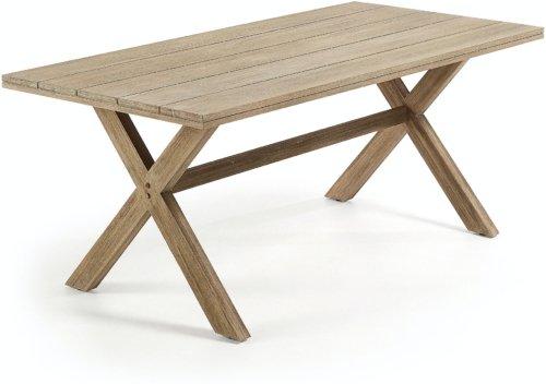 På billedet ser du variationen Chiara, Udendørs spisebord fra brandet LaForma i en størrelse H: 75 cm. B: 190 cm. L: 90 cm. i farven Natur