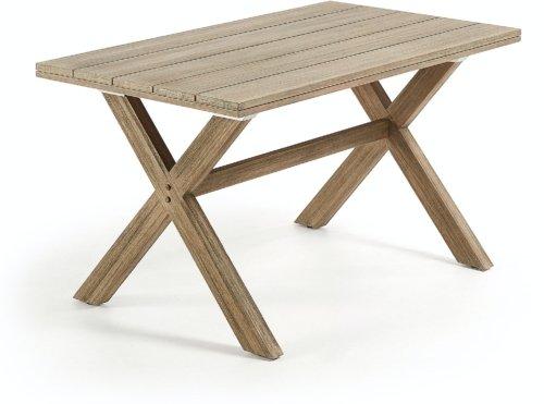 På billedet ser du variationen Chiara, Udendørs spisebord fra brandet LaForma i en størrelse H: 75 cm. B: 140 cm. L: 80 cm. i farven Natur