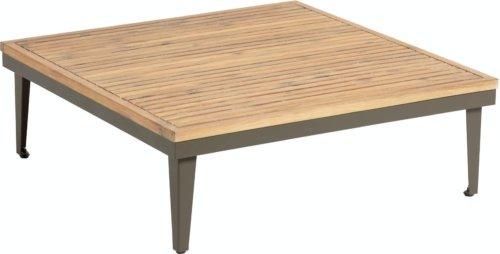 På billedet ser du variationen Pascale, Udendørs sofabord fra brandet LaForma i en størrelse H: 32 cm. B: 90 cm. L: 90 cm. i farven Natur/grå
