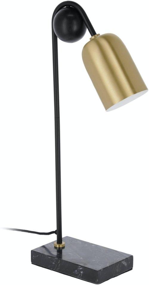 På billedet ser du variationen Natsumi, Bordlampe fra brandet LaForma i en størrelse H: 60 cm. B: 13 cm. L: 28 cm. i farven Guld/sort