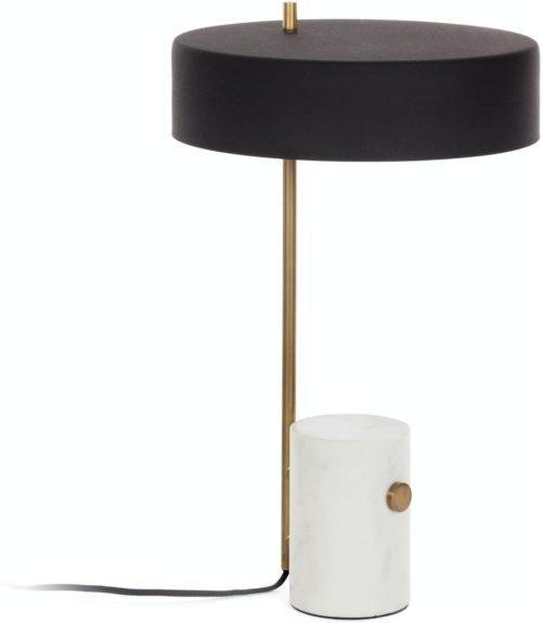 På billedet ser du variationen Phant, Bordlampe fra brandet LaForma i en størrelse H: 53 cm. B: 30 cm. L: 30 cm. i farven Sort hvid