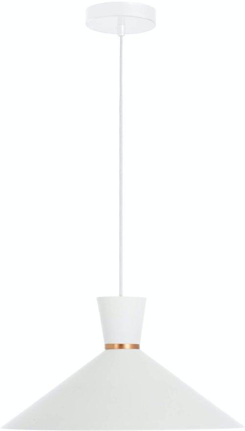 På billedet ser du variationen Vesta, Loftlampe fra brandet LaForma i en størrelse H: 20 cm. B: 40 cm. L: 40 cm. i farven Hvid