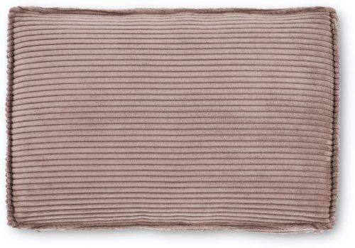 På billedet ser du variationen Blok, Sofa tilbehørspude, Fløjl fra brandet LaForma i en størrelse H: 50 cm. B: 70 cm. L: 15 cm. i farven Lyserød