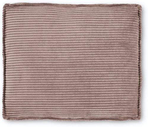På billedet ser du variationen Blok, Sofa tilbehørspude, Fløjl fra brandet LaForma i en størrelse H: 60 cm. B: 70 cm. L: 15 cm. i farven Lyserød