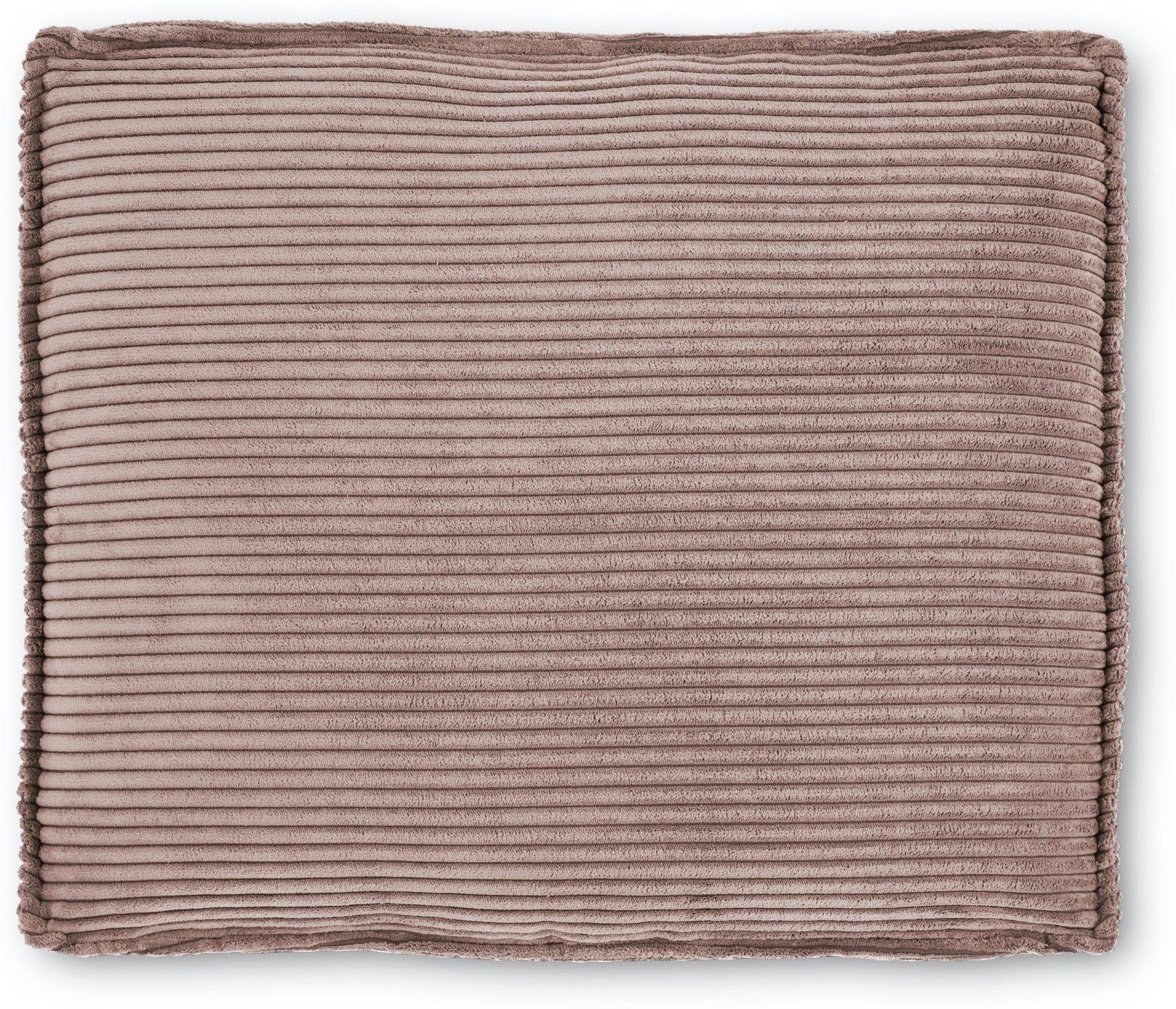 Blok, Sofa tilbehørspude, Fløjl by LaForma (H: 60 cm. B: 70 cm. L: 15 cm., Lyserød)