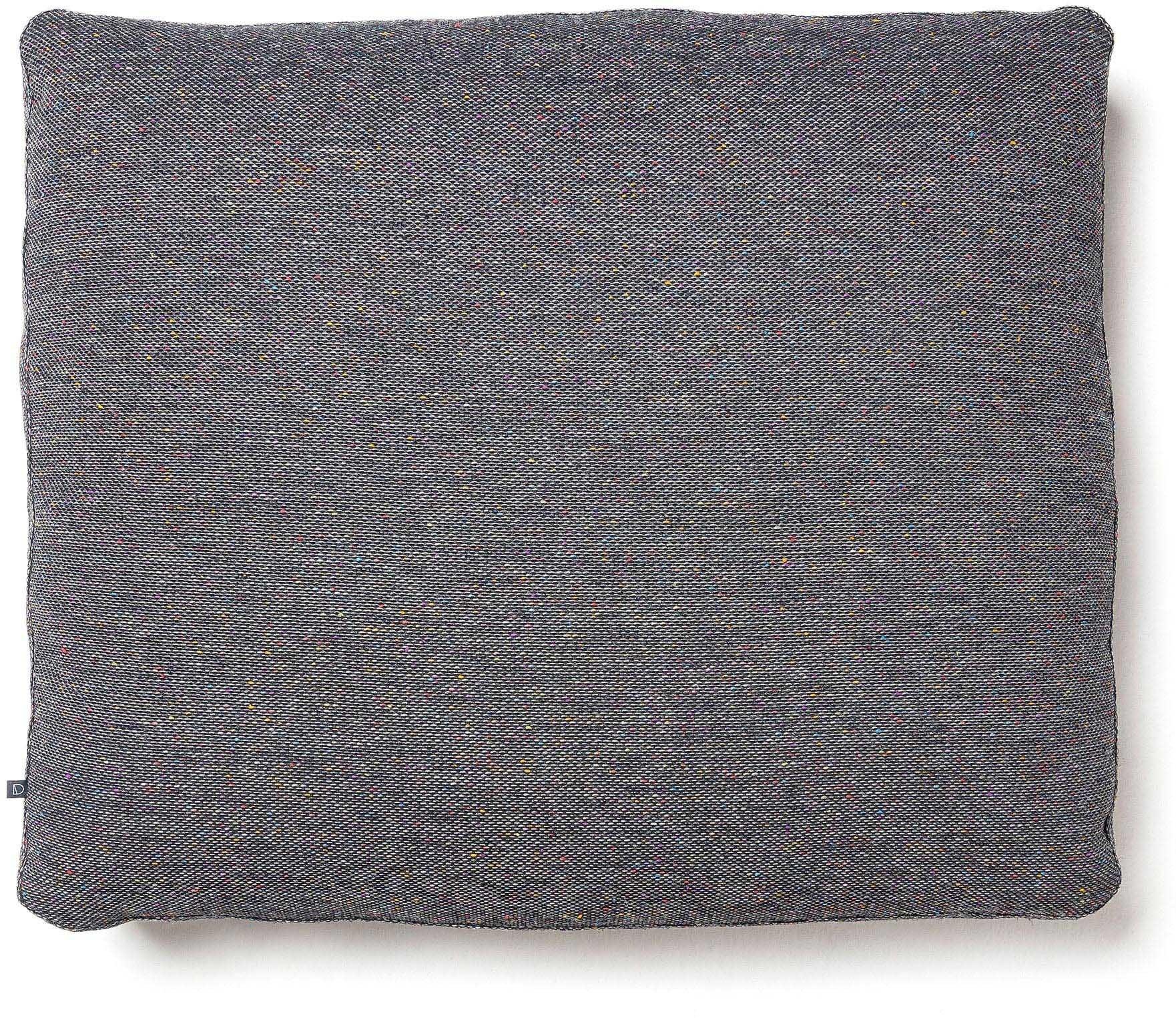 Blok, Sofa tilbehørspude, Stof by LaForma (H: 50 cm. B: 60 cm. L: 15 cm., Lysegrå)
