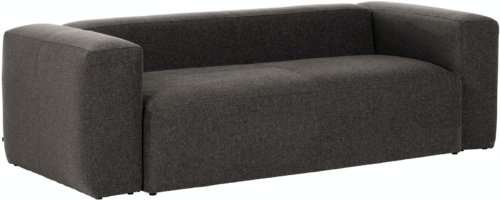 På billedet ser du variationen Blok, 3-personers sofa, Stof fra brandet LaForma i en størrelse H: 69 cm. B: 240 cm. L: 100 cm. i farven Grå