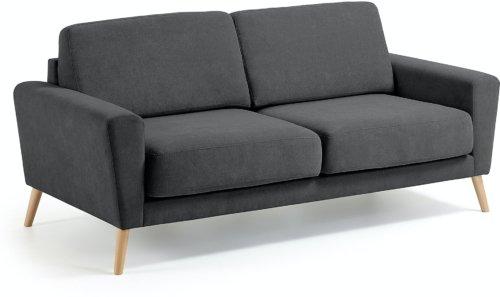 På billedet ser du variationen Narnia, 3-personers sofa fra brandet LaForma i en størrelse H: 88 cm. B: 192 cm. L: 90 cm. i farven Grå