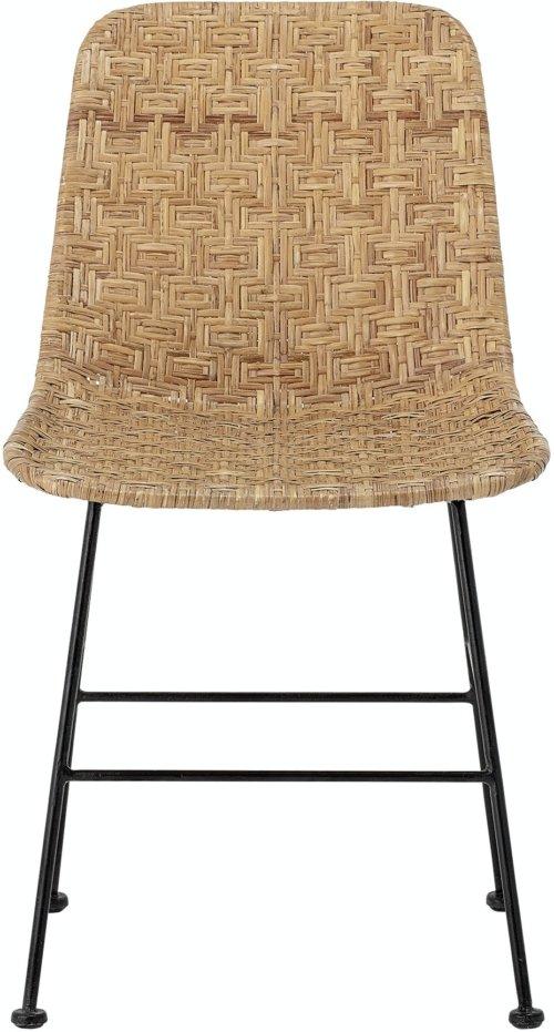 På billedet ser du variationen Kitty, Spisebordsstol, Natur, Rattan fra brandet Bloomingville i en størrelse H: 80 cm. B: 55 cm. L: 44 cm. i farven Natur