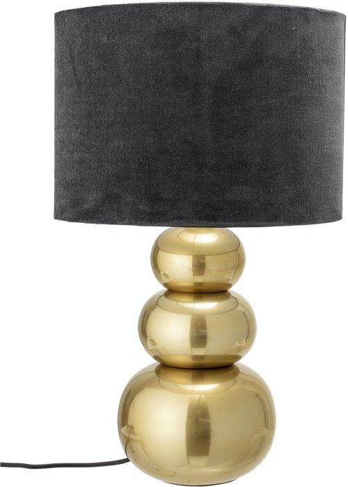 På billedet ser du variationen Jahir, Bordlampe, Guld, Aluminium fra brandet Bloomingville i en størrelse D: 35 cm. H: 57 cm. i farven Guld