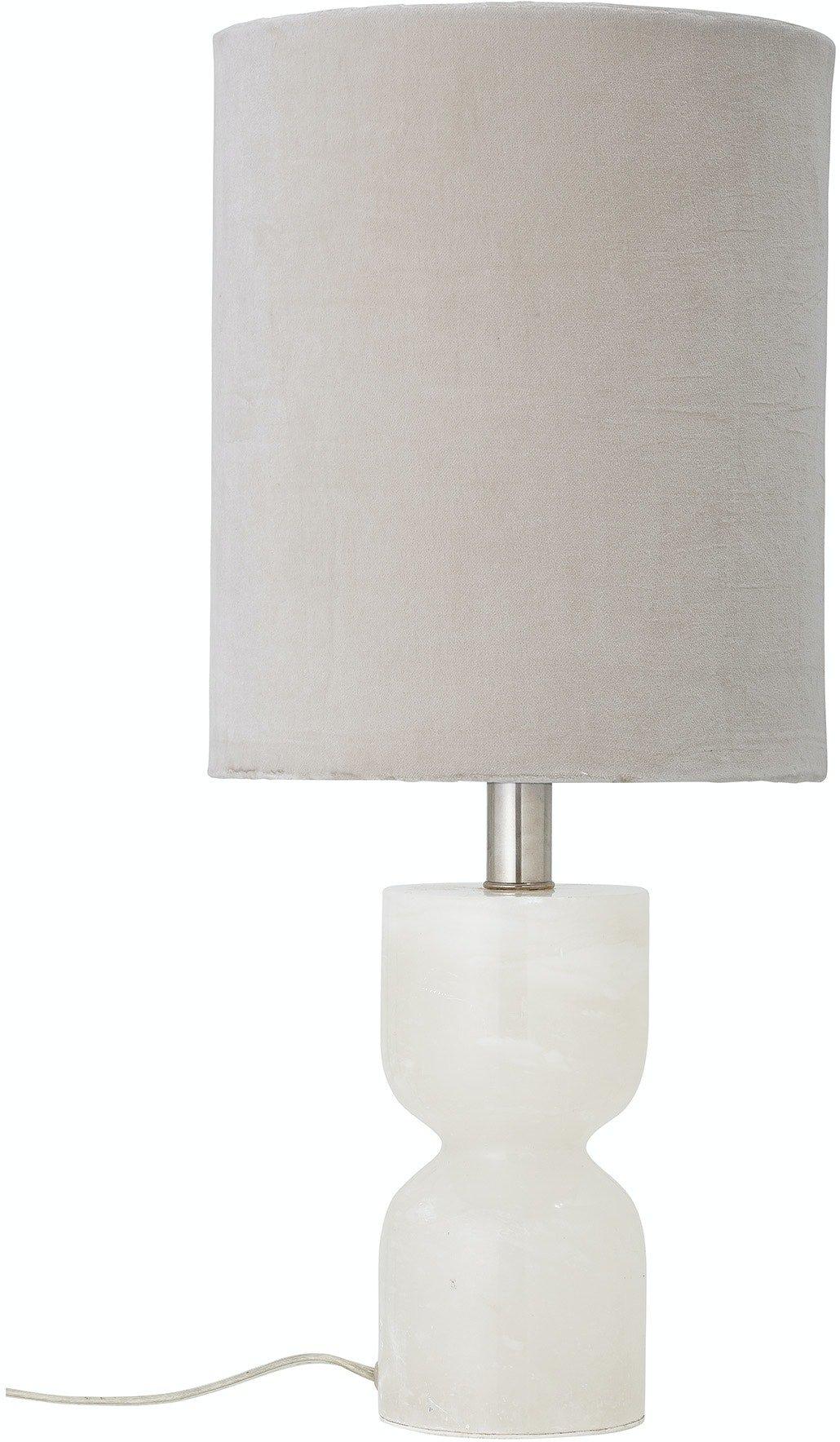 Køb Annegrethe, Bordlampe, Natur, Alabast by Bloomingville (D: 23,5 cm. H: 59 cm., Natur)